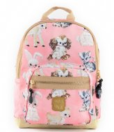 Pick & Pack Cute Animals Backpack S Coral (48)