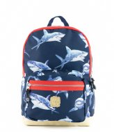 Pick & Pack Shark Backpack M 13 Inch Navy (14)