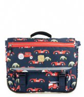 Pick & Pack Cars Schoolbag Navy (14)