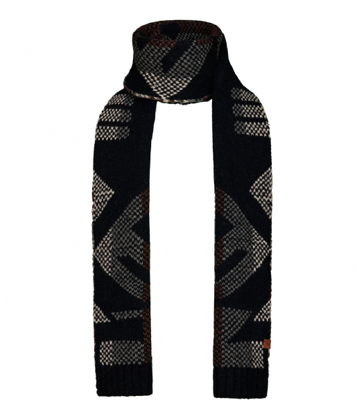 BICKLEY AND MITCHELL  Scarf navy (33)