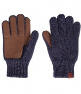 BICKLEY AND MITCHELL Gloves navy twist (133)