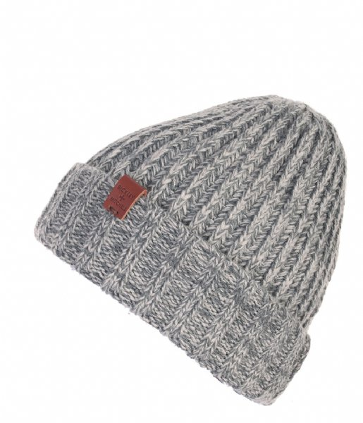 BICKLEY AND MITCHELL  Beanie grey twist (122)
