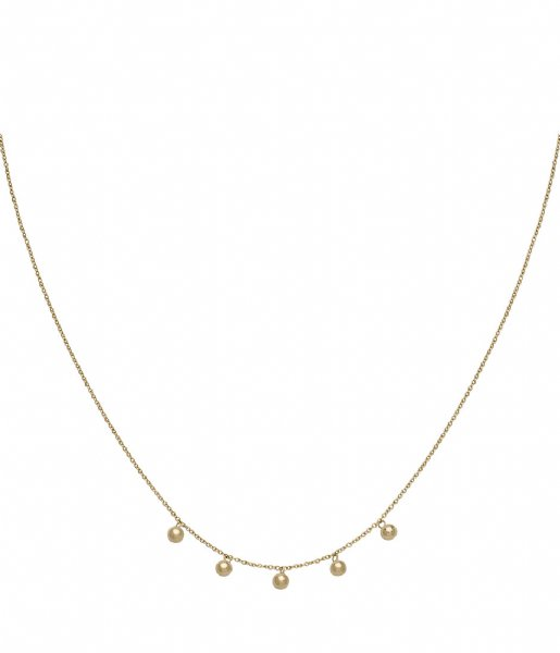 CLUSE  Essentiele Orbs Necklace gold plated (CLJ21006)