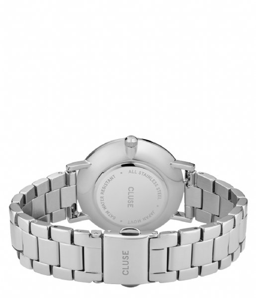 CLUSE  Le Couronnement Three Link Silver Colored winter white silver colored (CW0101209008)