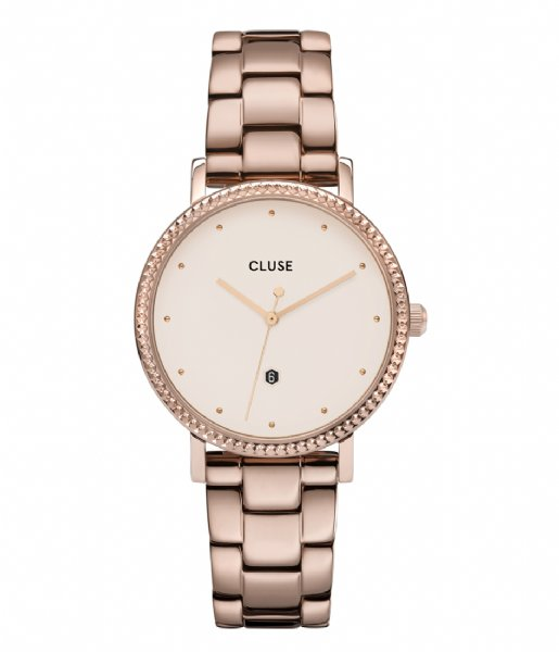 CLUSE  Le Couronnement Three Link Rose Gold Plated winter white rose gold plated (CW0101209009)