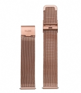 CLUSE Boho Chic Strap Mesh rose gold plated (CLS047)