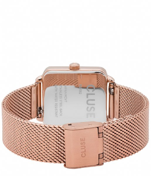 CLUSE  La Tetragone Mesh Rose Gold Plated mesh rose gold plated white (CL60003)