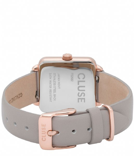 CLUSE  La Tetragone Rose Gold Plated White rose gold plated white grey (CL60005)