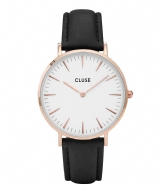 CLUSE Boho Chic Rose Gold Colored White white black (CL18008)