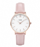 CLUSE Minuit Rose Gold Colored White white pink (CL30001/CW0101203006)