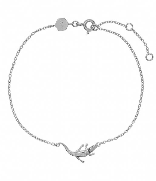CLUSE  Force Tropicale Alligator Chain Bracelet silver colored (CLJ12021)