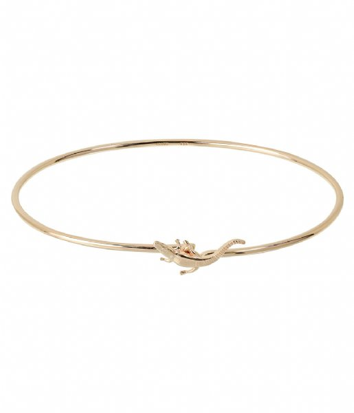 CLUSE  Force Tropicale Alligator Chain Bracelet gold plated (CLJ11020)
