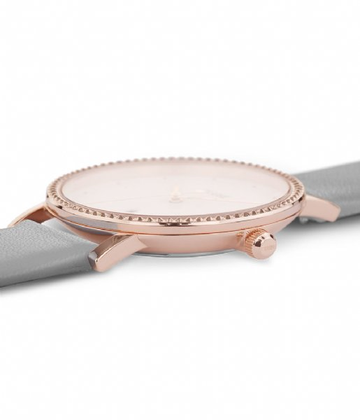 CLUSE  Le Couronnement Rose Gold Plated White soft grey (CL63001)