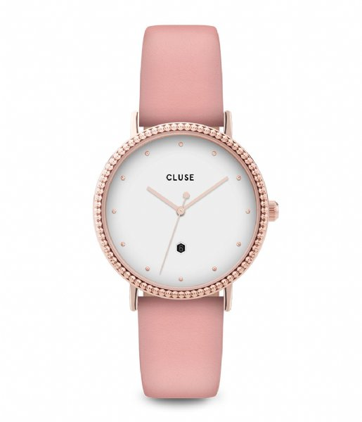 CLUSE  Le Couronnement Rose Gold Plated White soft rose (CL63002)