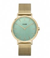 CLUSE Boho Chic Mesh Stone Green gold plated stone green (CW0101201027)