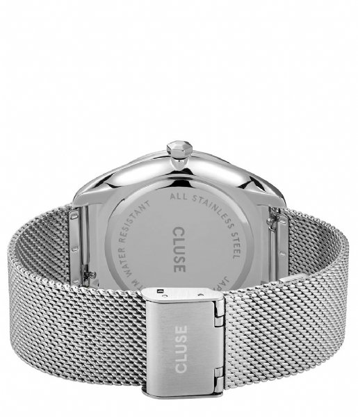 CLUSE  Feroce Mesh Silver Plated White silver plated (CW0101212001)