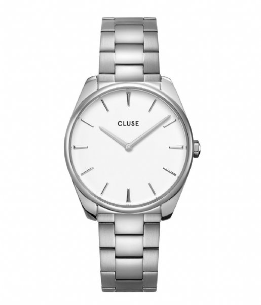 CLUSE  Feroce 3 Link Silver Plated White silver plated (CW0101212003)