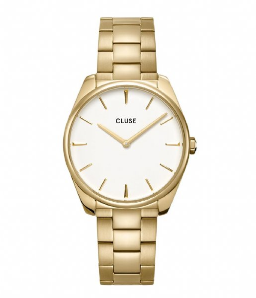 CLUSE  Feroce 3 Link Gold Plated White gold (CW0101212005)