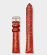 CLUSE Strap Leather 16 mm Rose Gold colored Lizard coral (CS12212)
