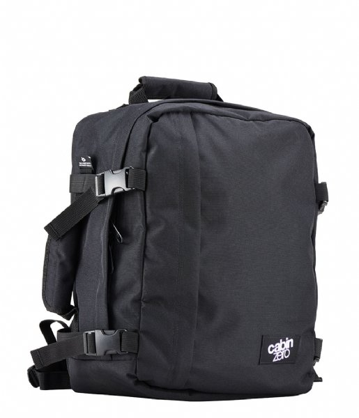 CabinZero  Classic Cabin Backpack 28 L 15 Inch Absolute Black