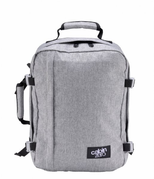 CabinZero  Classic Cabin Backpack 28 L 15 Inch Ice Grey
