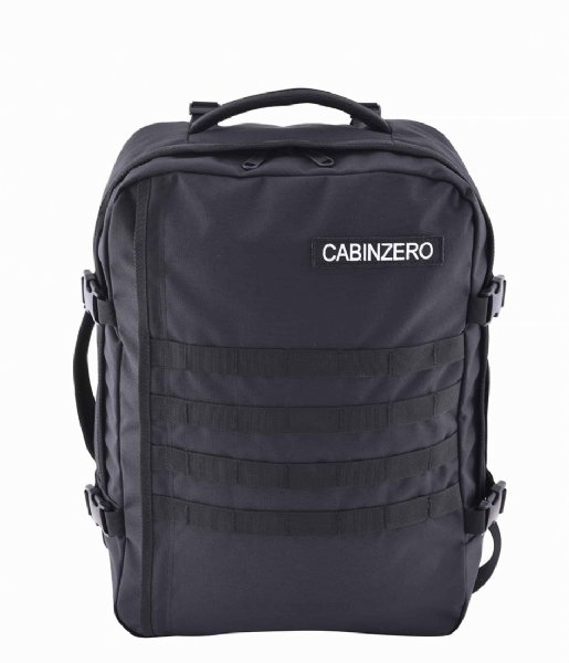CabinZero  Military Cabin Backpack 36 L 17 Inch Absolute Black