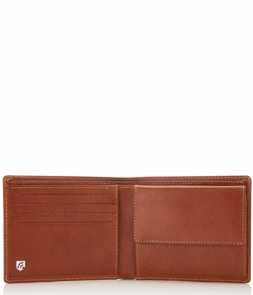 Castelijn & Beerens  Nova Wallet light brown