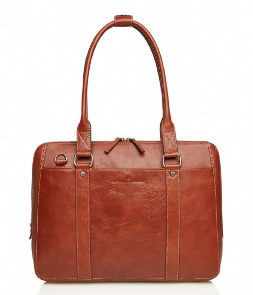 Castelijn & Beerens  Laptop Ladies Bag 15.6 Inch light brown