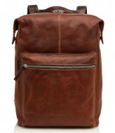 Castelijn & Beerens Rudy Backpack 15.6 Inch light brown