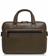 Castelijn & Beerens Delta Laptop Bag 13 Inch dark military
