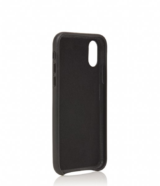 Castelijn & Beerens  Nappa Back Cover Wallet iPhone X + XS black