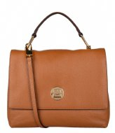 Coccinelle Liya Handbag Grainy Leather caramel moka