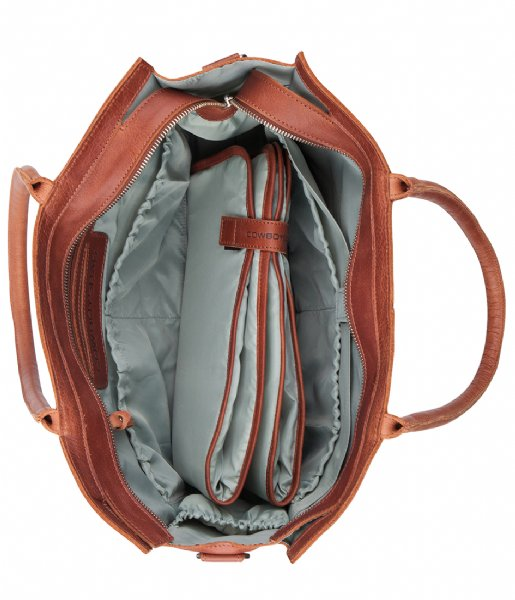d711f43d06e Diaper Bag Tortola cognac Cowboysbag | The Little Green Bag