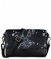 Cowboysbag Bag Topaz X Bobbie Bodt Snake Black and White (107)