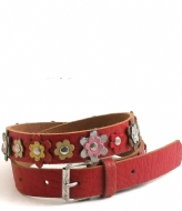 Cowboysbelt Kids Kids Belt 258004 red