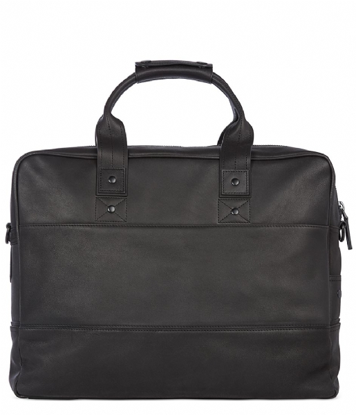 Decoded  Leather Briefcase 15 inch black