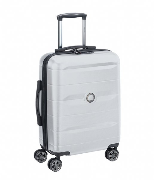 Delsey  Delsey Comete Spinner 55cm Silver Colored silver colored