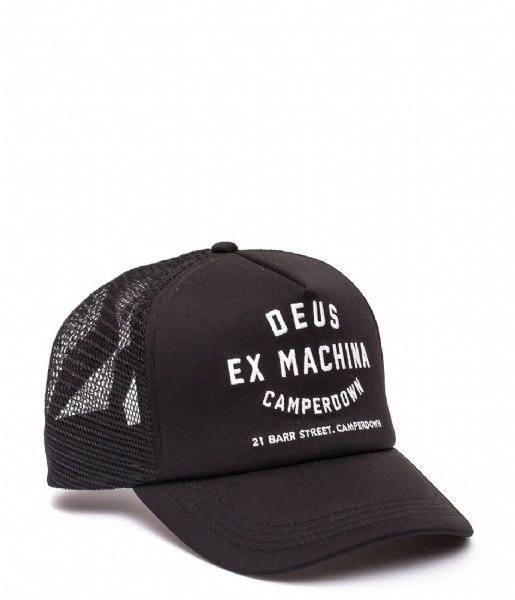 Deus  Camperdown Address Trucker black