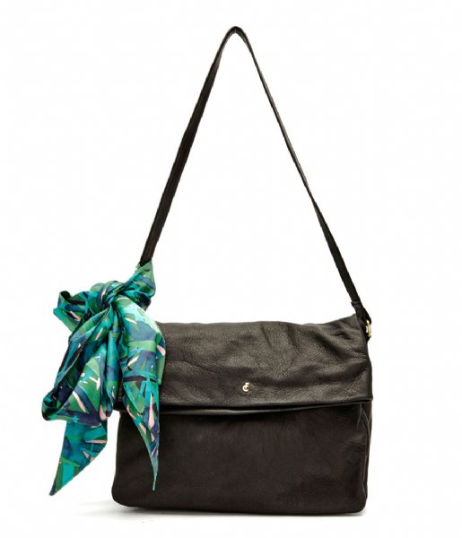 Forever Bag With Scarf black Fabienne Chapot | The Little