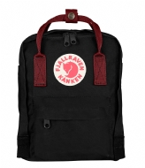 Fjallraven Kanken Mini black - ox red (550-326)
