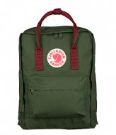 Fjallraven Kanken forest green-ox red (660-326)