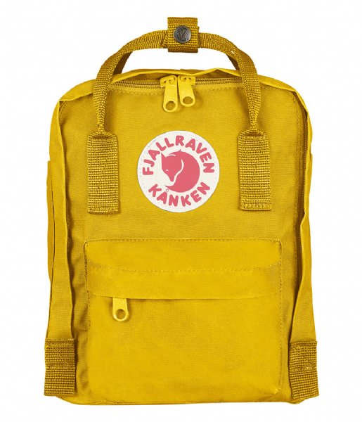 Fjallraven  Kanken Mini warm yellow (141)