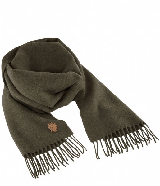Fjallraven  Solid Re-Wool Scarf deep forest (662)