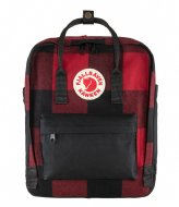 Fjallraven Kanken Re-Wool red black (320­-550)