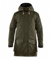 Fjallraven Singi Wool Padded Parka deep forest (662)