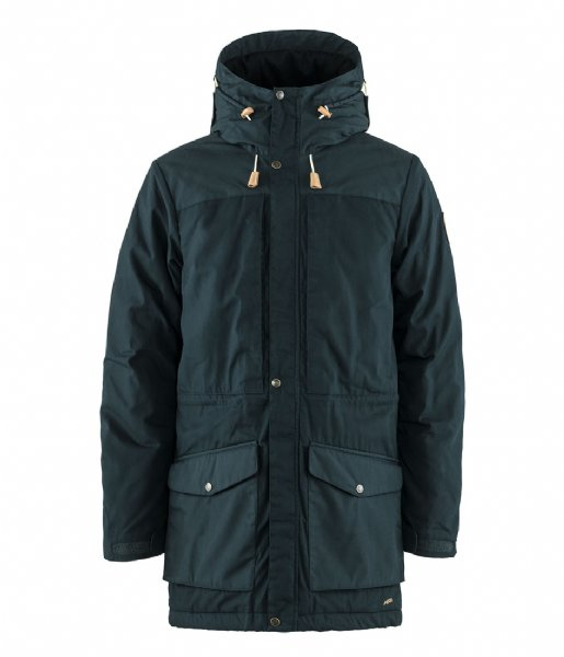 Fjallraven  Singi Wool Padded Parka dark navy (555)