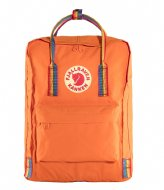 Fjallraven Kanken Rainbow Mini burnt orange rainbow pattern (212-907)
