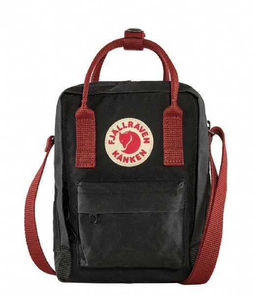 Fjallraven  Kanken Sling black ox red (550-326)