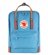 Fjallraven Kanken Rainbow Air blue rainbow pattern (508­-907)