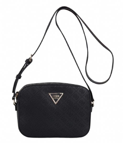 Kamryn Crossbody Top Zip black Guess | The Little Green Bag